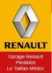logo du garage renault piedallos
