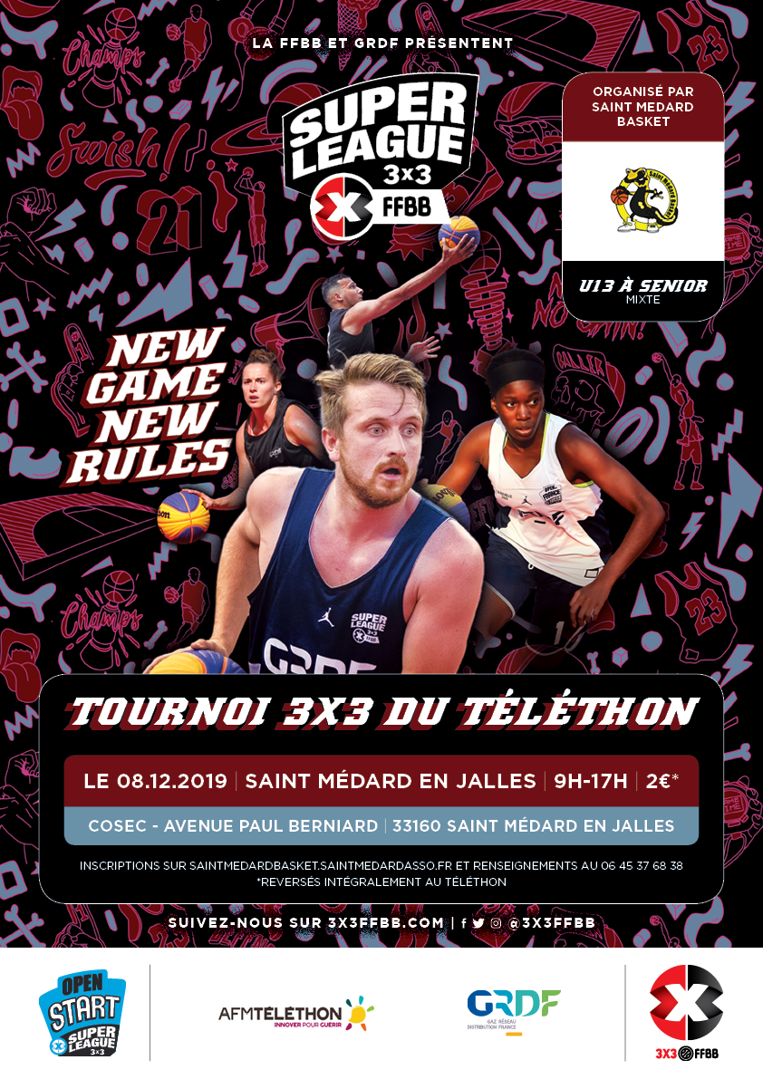 OPEN START 3×3 TELETHON