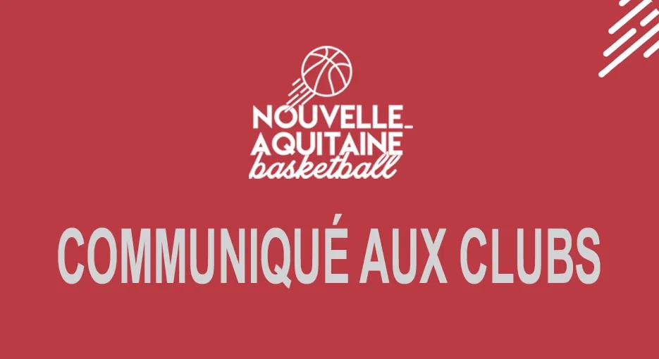Communique Ligue Aquitaine de BASKET du 02 Avril 2020